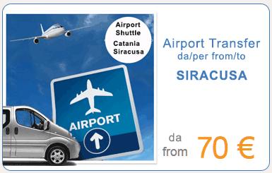 Transfer da/per aeroporto di Catania