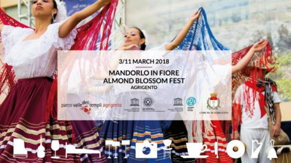 Almond blossom festival in Agrigento