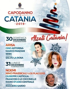 New year's eve in Catania