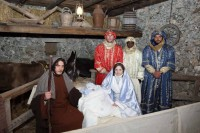 Cavagrande living Christmas crib