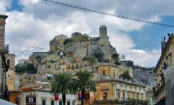 Modica, panorama view