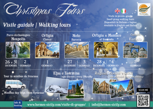 Syracuse and Noto walking tours 2019